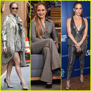 Jennifer Lopez Looks Stunning While Promoting 'Shades of Blue' in NYC!
