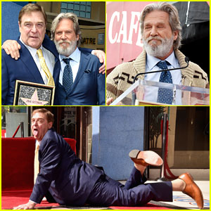 John Goodman Has Best Time at Walk of Fame Ceremony, Reunites with 'The Dude' Jeff Bridges