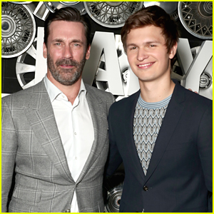 Jon Hamm & Ansel Elgort's New Film 'Baby Driver' Release Date Gets Moved Up