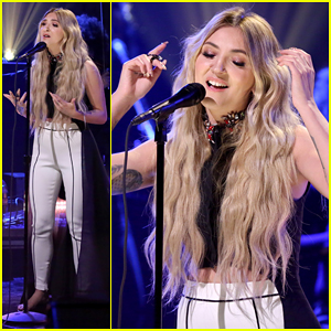 Julia Michaels Performs 'Issues' Live On 'The Tonight Show' - Watch Here!