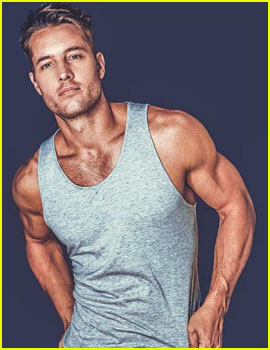 This Is Us' Justin Hartley Puts His Muscles on Display for 'Bello'