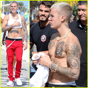 Justin Bieber's New Tattoo is Fierce & Fits Perfectly With the Crown On His Chest