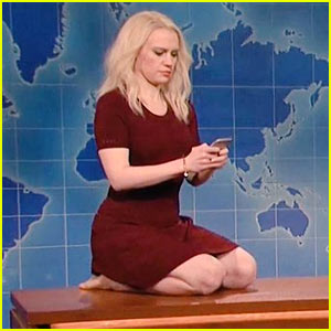 Kate McKinnon Mocks KellyAnne Conway's Couch Pic on 'SNL' - Watch!