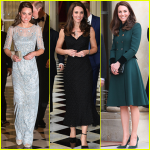 Kate Middleton Gets Glam With Prince William in Paris!
