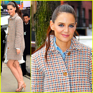 Katie Holmes 'Draws So Much Inspiration' From Jackie Kennedy