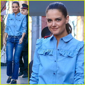 Katie Holmes Says Suri Was Hurt By Hillary Clinton's Loss