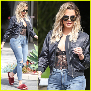 Khloe Kardashian Gives Some Tips For Sticking to Your Workout Routine
