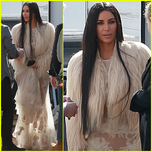 Kim Kardashian Returns to the Set of 'Ocean's Eight'