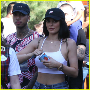 Kylie Jenner & Tyga Couple Up For Disneyland Trip