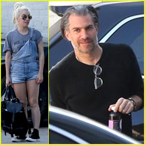 Lady Gaga & Boyfriend Christian Carino Hit the Studio Together