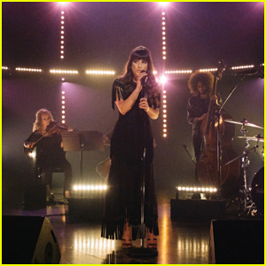 Lea Michele Performs 'Love is Alive' On 'The Late Late Show' - Watch Here!