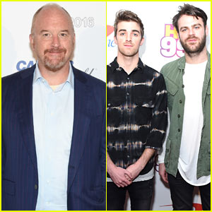 Louis CK to Host 'SNL' with Musical Guests The Chainsmokers in April!