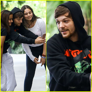 Louis Tomlinson is Super Fan-Friendly While Out in Miami