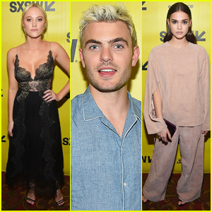Maika Monroe & Maia Mitchell Premiere 'Hot Summer Nights' at SXSW Festival 2017
