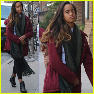 Malia Obama Steps Out For Another Day at Harvey Weinstein Internship