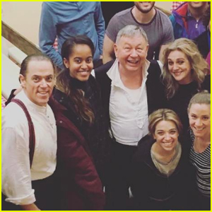 Malia Obama Stops By Another Broadway Play in NYC!