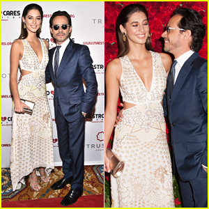 Marc Anthony & Girlfriend Mariana Downing Make Red Carpet Debut At Maestro Cares Fund Gala!
