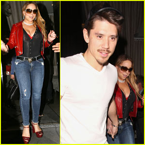 Mariah Carey & Boyfriend Bryan Tanaka Hold Hands While on Dinner Date