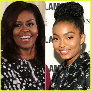 Michelle Obama Wrote Yara Shahidi's College Recommendation Letters