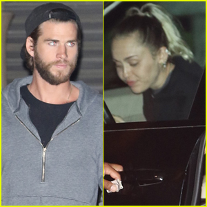 Miley Cyrus & Liam Hemsworth Make it a Date Night in Malibu