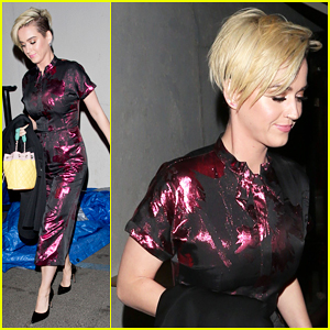 Miley Cyrus & Scarlett Johansson Inspired Katy Perry's New Short Haircut!