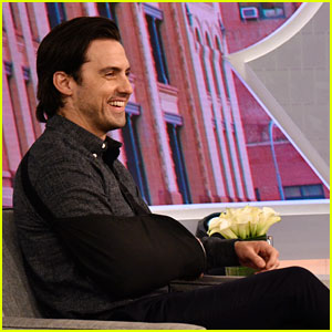Milo Ventimiglia Filmed 'This Is Us' Push-Up Scene with a Broken Wrist!