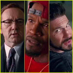 New 'Baby Driver' Trailer Features Kevin Spacey, Jamie Foxx, Jon Bernthal, & More - Watch Now! (Video)