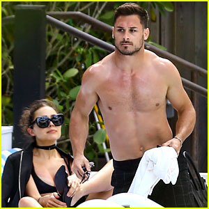 NFL Star Danny Amendola Goes Shirtless in Miami with Girlfriend Olivia Culpo!