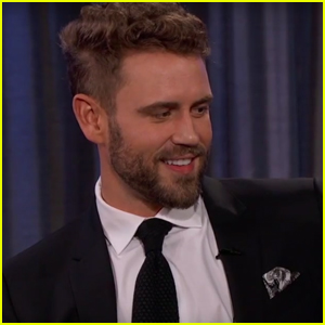 'The Bachelor' Nick Viall & His New Fiancée Stop By 'Jimmy Kimmel Live'