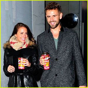 Nick Viall & Vanessa Grimaldi Enjoy a Canadian Treat in NYC!