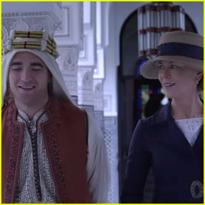 Nicole Kidman Meets Robert Pattinson in the Desert in 'Queen of the Desert' Trailer