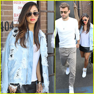 Nicole Scherzinger Grabs Lunch with Boyfriend Grigor Dimitrov