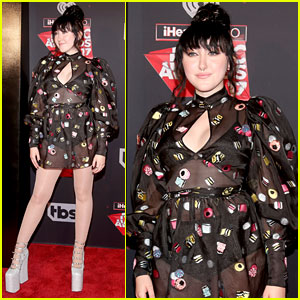 Noah Cyrus Wears Sheer Dress & Sky High Shoes at iHeartRadio Music Awards 2017!