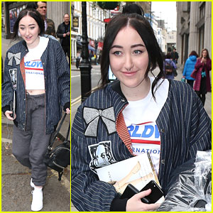 Noah Cyrus Reveals The Coolest Tour Bus She's Been On