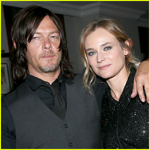 Diane Kruger & Norman Reedus Spotted Kissing in New Photos