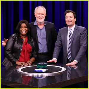 Octavia Spencer, John Lithgow & Luke Bryan Play Catchphrase with Jimmy Fallon - Watch Now!