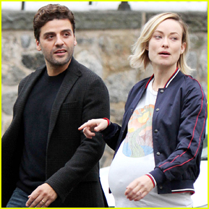 Olivia Wilde & Oscar Isaac Continue to Film 'Life Itself'