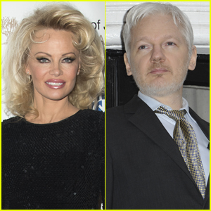 Pamela Anderson Opens Up About Julian Assange Romance Rumors
