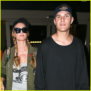 Paris Hilton & Boyfriend Chris Zylka Return Home From Their Romantic Getaway