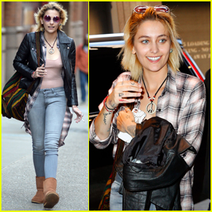 Paris Jackson Keeps Busy in the Big Apple & Hits Up 'Hamilton'