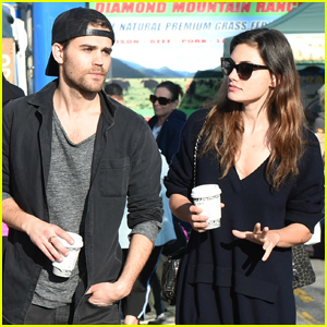 Exes Paul Wesley & Phoebe Tonkin Meet Up at Farmers Market