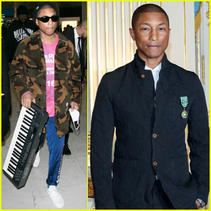 Pharrell Williams Honored With Prestigious French Arts Award