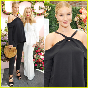 Pregnant Rosie Huntington-Whiteley Helps Rachel Zoe Celebrate Her Spring UGG Collection!