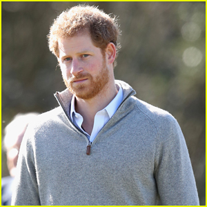 Prince Harry Gets In Touch With Nature At Epping Forest!