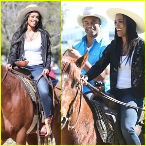 Rachel Lindsay Goes on Horseback Riding Date for 'The Bachelorette'!