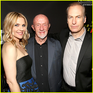Rhea Seehorn, Jonathan Banks, & Bob Odenkirk Attend the Season 3 Premiere of 'Better Call Saul'