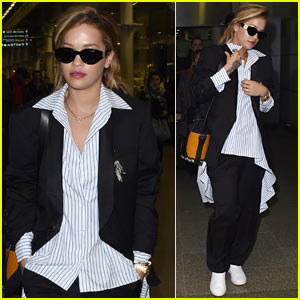 Rita Ora Steps Out Ahead of the 'America's Next Top Model' Finale