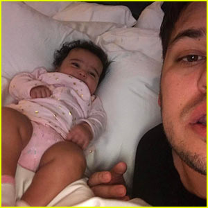 Rob Kardashian Says Goodbye to Baby Dream, Says He 'Can't Get Enough' of Her