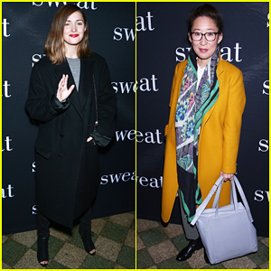 Rose Byrne & Sandra Oh Have Broadway Night At 'Sweat' Opening!
