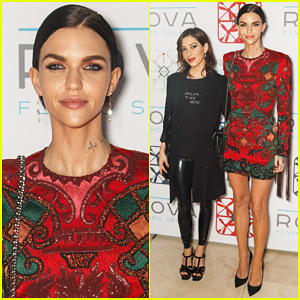 Ruby Rose & Girlfriend Jess Origliasso Couple Up ROVA Sydney Launch Party!